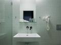 Koupelna pokoj COMFORT Hotel ATOM Třebíč