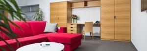 Typy pokojů a apartmánů Hotel Atom