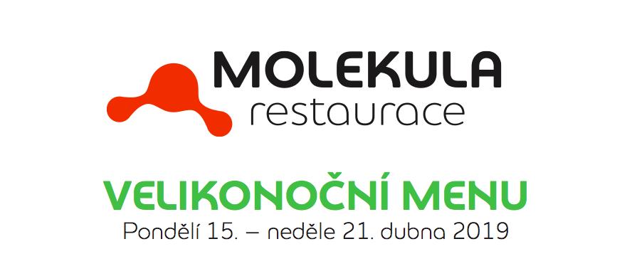Jarní menu v restauraci Molekula