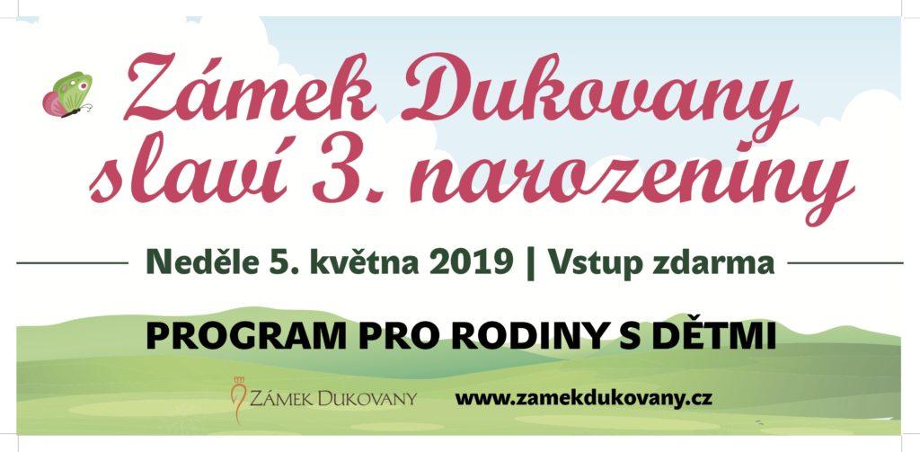 3.výročí od otevření Zámku Dukovany